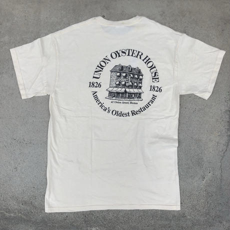 used BOSTON UNION OYSTER HOUSE T-SH