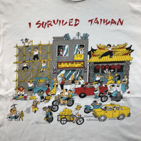 used I SURVIVED TAIWAN T
