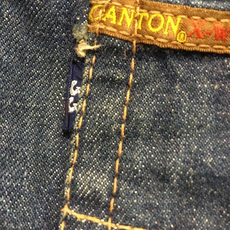 60s CANTON X-WEST W33 DENIM PANTS