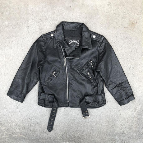 used KIDS RICH HIDE CO.  RIDERS JKT