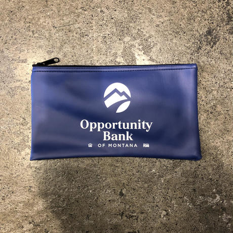 Opportunity Bank OF MONTANA bank bag