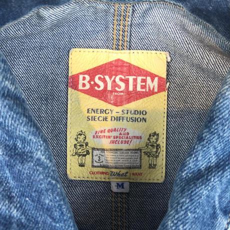 used B STYLE denim jkt