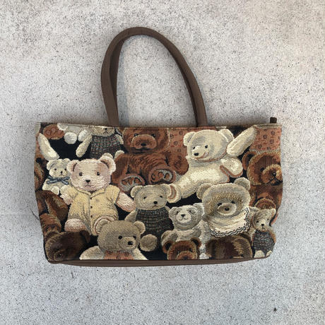 TEDDY BEAR HAND BAG