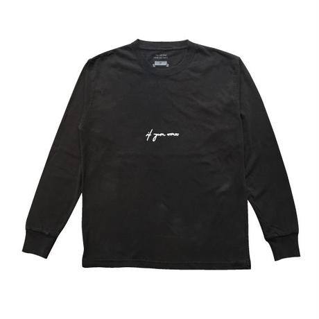 if you want logo long sleeve t