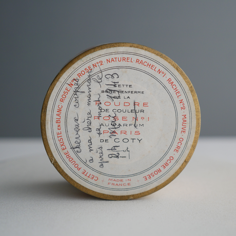 Vintage/France  Coty Face Powder Box A