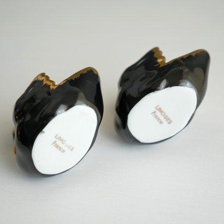 Vintage/France Black SwanのSalt&Pepper Cellars