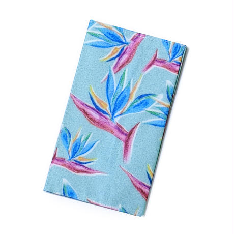 【数量限定】Organic Cotton Mask Case  -Bird of paradise-