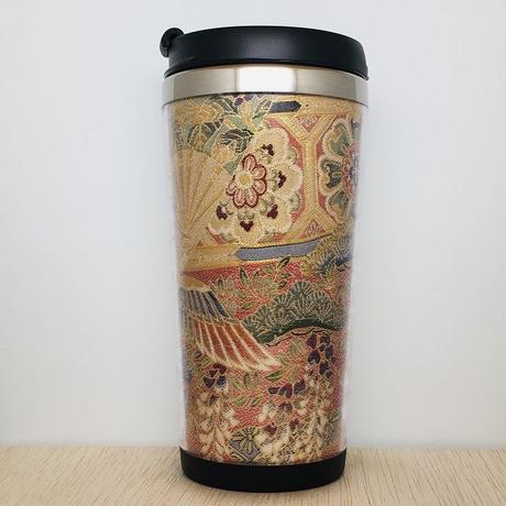 "Kimono Tumbler ""極 kiwami""   (k-01) 桐箱付"