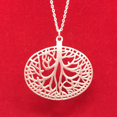 Tree Motif  Necklace
