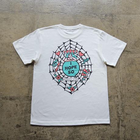 Original Tee Shirt design by KENTA -Milk White