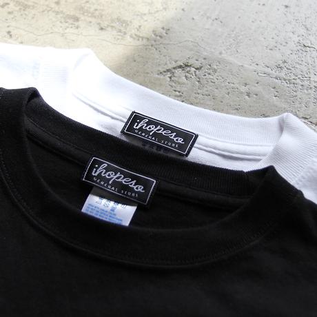 878 × I HOPE SO L/S Tee Shirt - White