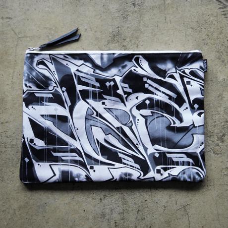 UNDEAD 'REVERSAL' clutch bag - XL size