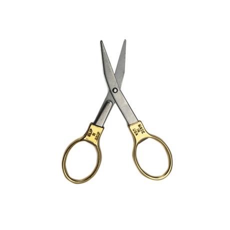 "Slip-N-Snip Folding Scissors ""Brass"""