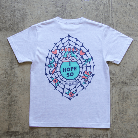 Original Tee Shirt design by KENTA - Ash Gray