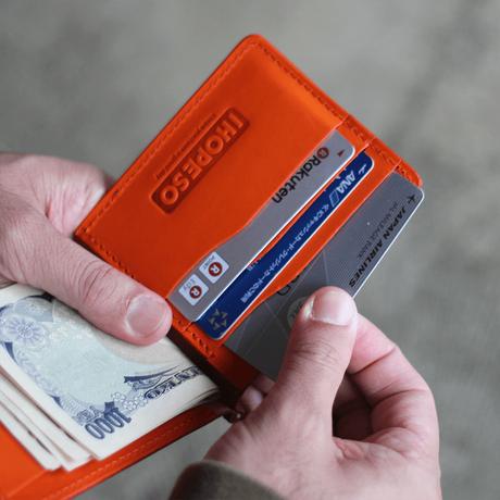 Original Money Clip Wallet - Brown/Orange
