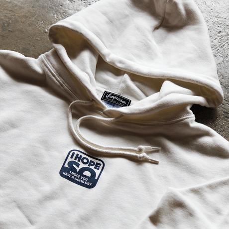 Square Logo Hoodie - White/Blue