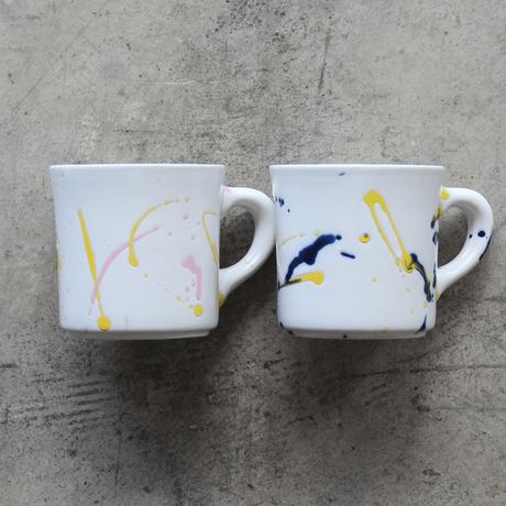 Splash Mug / Pink & Yellow