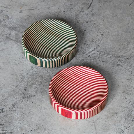 Wood Stripe Tray