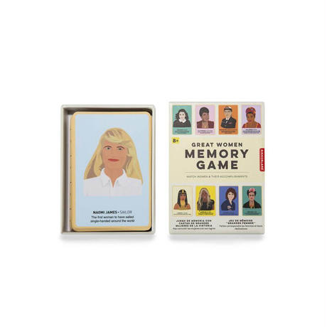 Great Women Memory Game