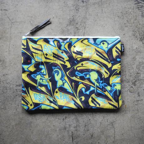 UNDEAD 'WERETIGER' clutch bag - L size