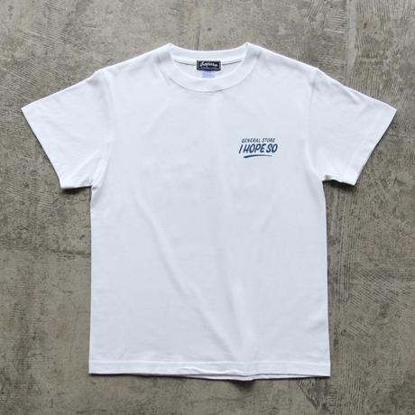 Drip Logo Tee Shirt - Milk White