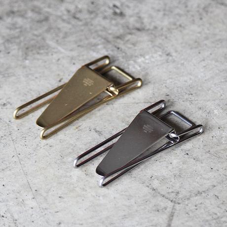 "Hopper Double Clip ""Brass"""
