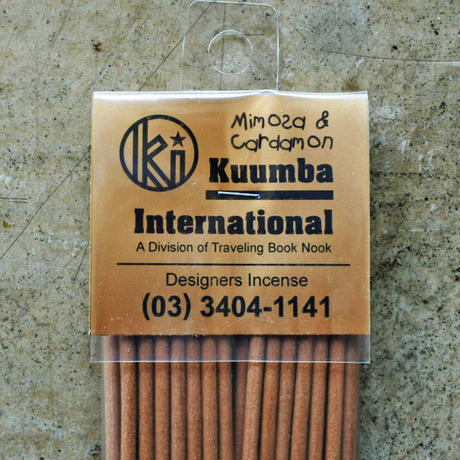 "KUUMBA INCENSE ""Mimosa & Cardamon"""