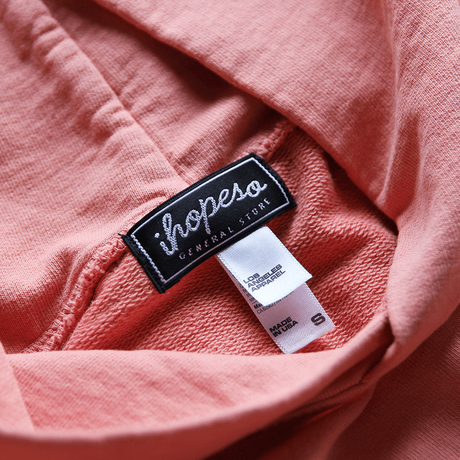 PULLOVER HOODIE - Salmon