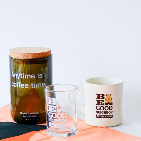 オリジナルガラスキャニスター/BE A GOOD NEIGHBOR COFFEE KIOSK