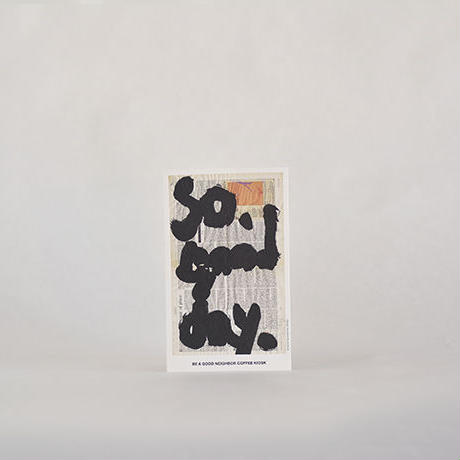 BEAGOODNEIGHBORCOFFEEKIOSK/オリジナルポストカード