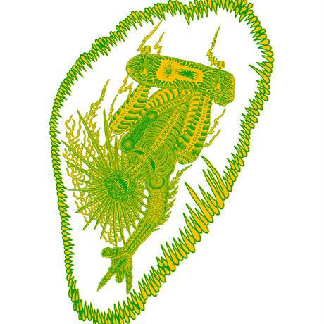 TOONICE 8TH ANNIVERSARY T-SHIRTS TETSUNORI TAWARAYA DESIGN 杢GREY