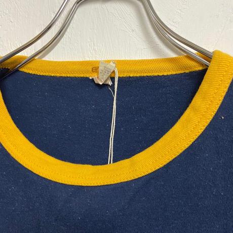 used 1970s Southern Athletic (L) USA製 Michigan Tee Navy サウザンアスレチック ミシガン Tシャツ コットン ビンテージ アメカジ