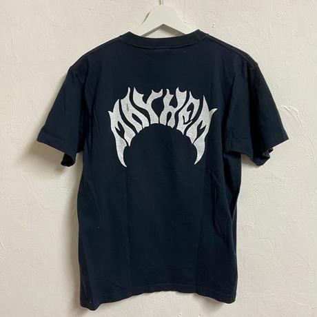 """USED●2000s lost Size M """" MAYHEM"""" Tシャツ ブラック スケート"""