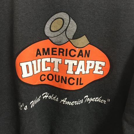 USED● Hanes American Duct Tape Council SizeL チャコール トレーナー スウェット