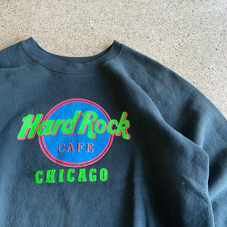 "USED● 1980s-1990s FRUIT OF THE LOOM "" Hard Rock CAFE ""  (XL) フルーツオブザルーム ハードロックカフェ トレーナー スウェット"