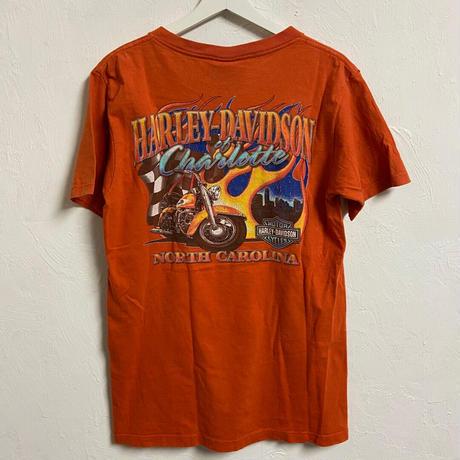 USED● USA製 Harley Davidson ハーレーダビッドソン M 両面プリント Tシャツ