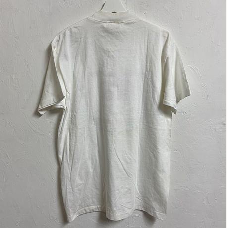 USED●1990s  CANTERBURY  Rasta Color Tee カンタベリー ラスタカラー Tシャツ ホワイト