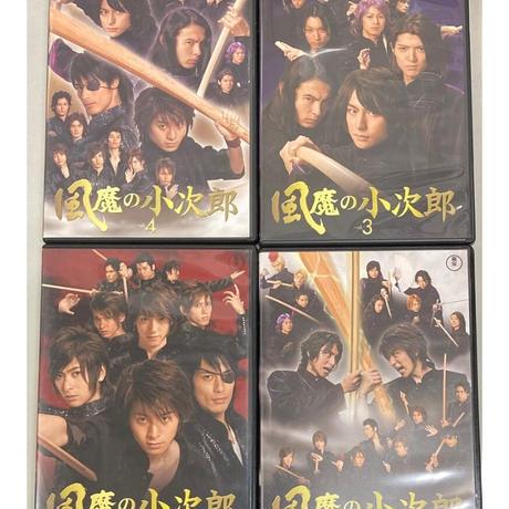風魔の小次郎 DVD Vol.1~4 セット