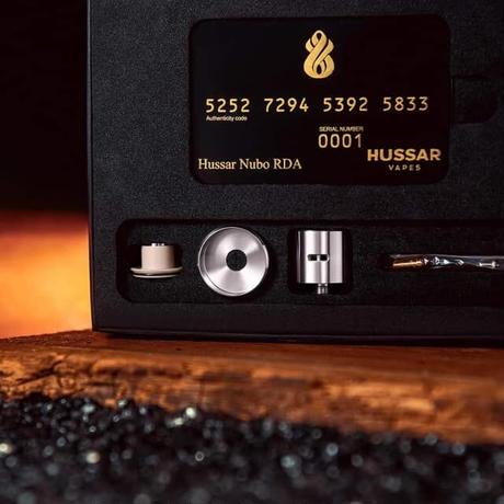 Hussar Nubo RDA by Hussar Vapes