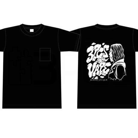 3PCS 4th Anniversary T-shirt Drawing by Atsushi Kaneko