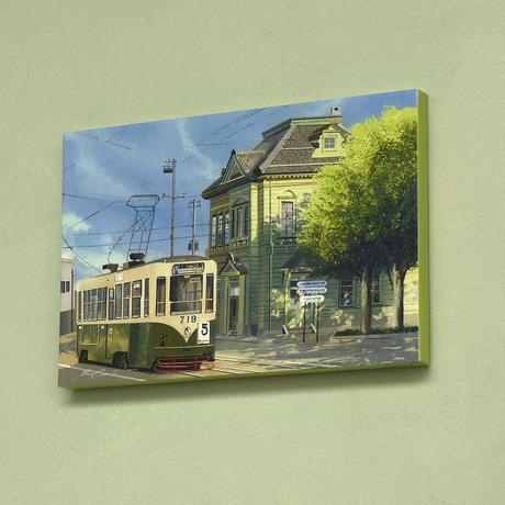 アートパネル 大西翔「風景画」