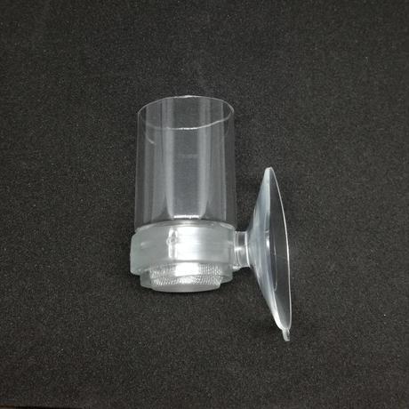 グリンダルワームフィーダー 吸盤:クリア
