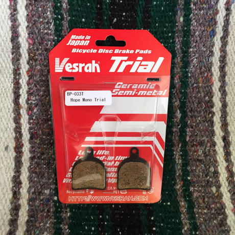 Vesrah for Trial HOPE MONO TRIAL用 ディスクパット