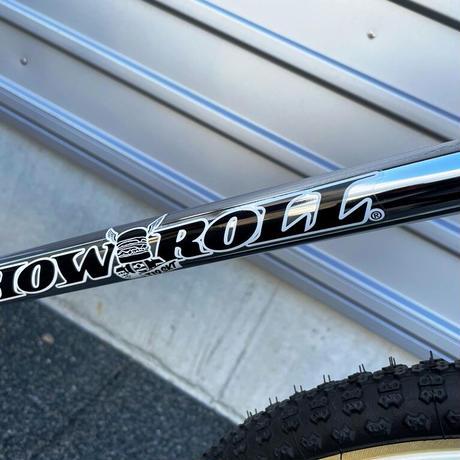 T19 x HOW I ROLL ×I.B.W TWO FOUR BMX CHROME
