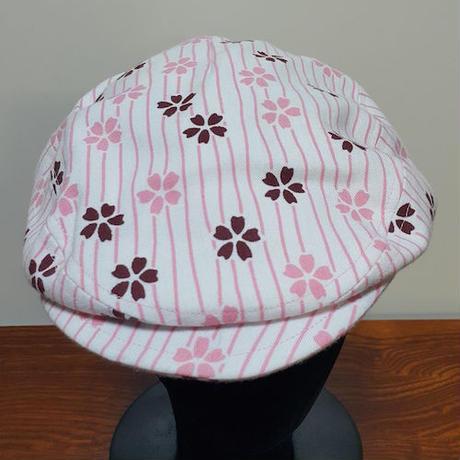 ハンチング 桜柄 (in 57)