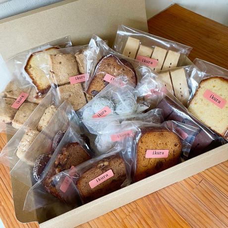 《ギフト🆗》焼き菓子詰め合わせ【5000yen BOX】