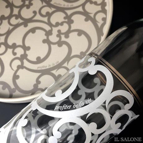 """タッセル付き、ワイン紙袋付き♡""""人生を楽しむシリーズ""""ワインボトル♡マットシルバー♡"""