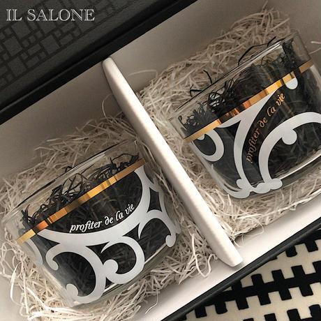 即納♡レアカラー♡贈り物に♡ショートグラス2個セット♡簡易BOX入り♡