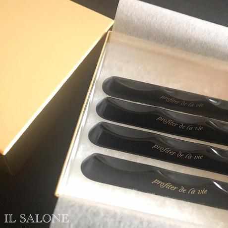 即納♡カトラリーレスト4個セット♡金のお箱入り♡