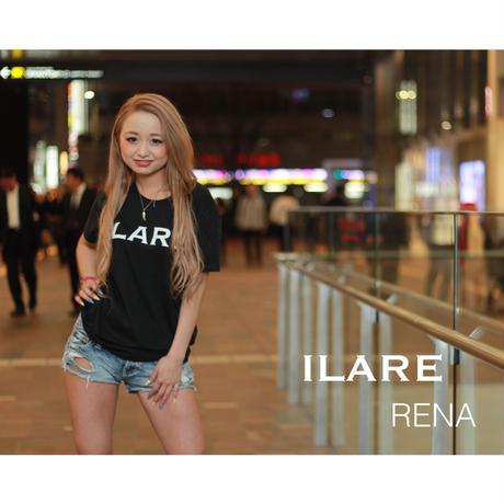 ILARE オリジナルロゴTシャツ/ブラック